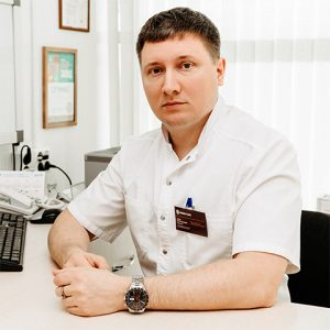 Доктор онколог хирург Антонов М. В.